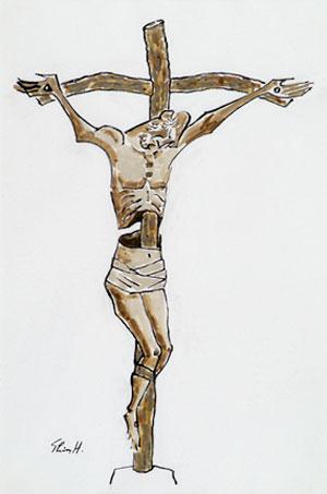 画像:十字架のキリスト